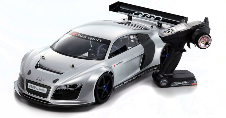 1 8 scale audi r8 lms kyosho inferno gt2 remote control. Black Bedroom Furniture Sets. Home Design Ideas