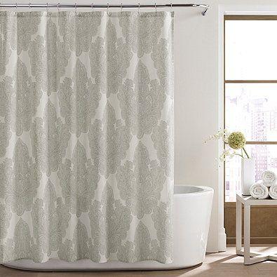 City LoftTM Corinne Shower Curtain In Light Beige