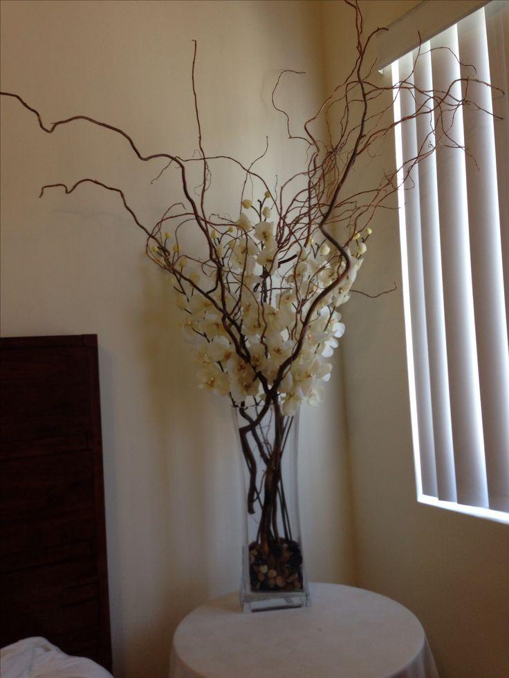 Living Room Flower Arrangements Stones