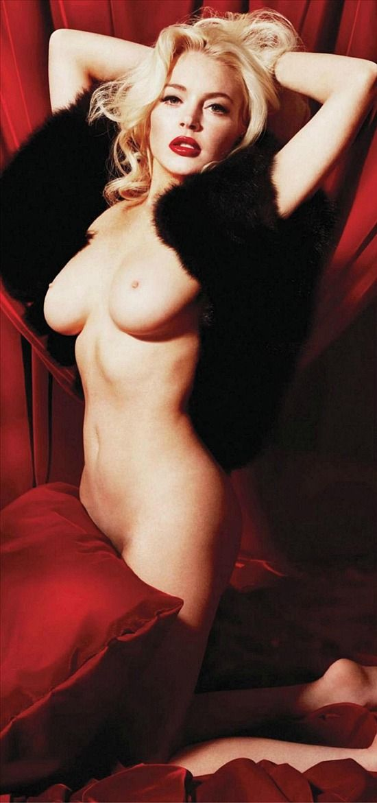 Naked women body paint optical illusion