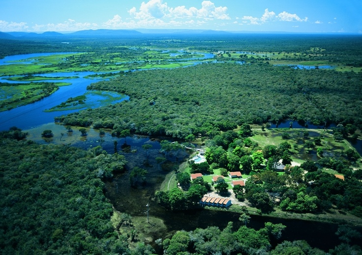 Pantanal, Brazil. Pousada Rio Mutum