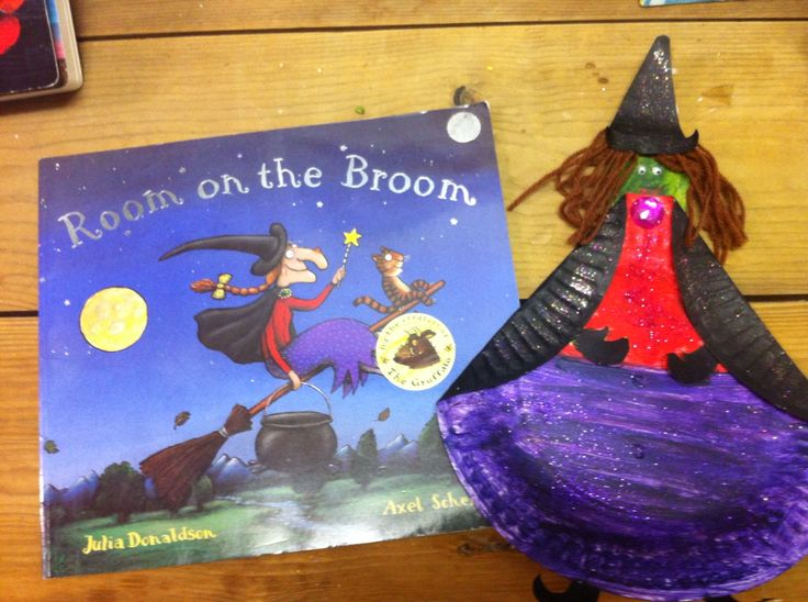 Room on the Broom craft. Witch craft.