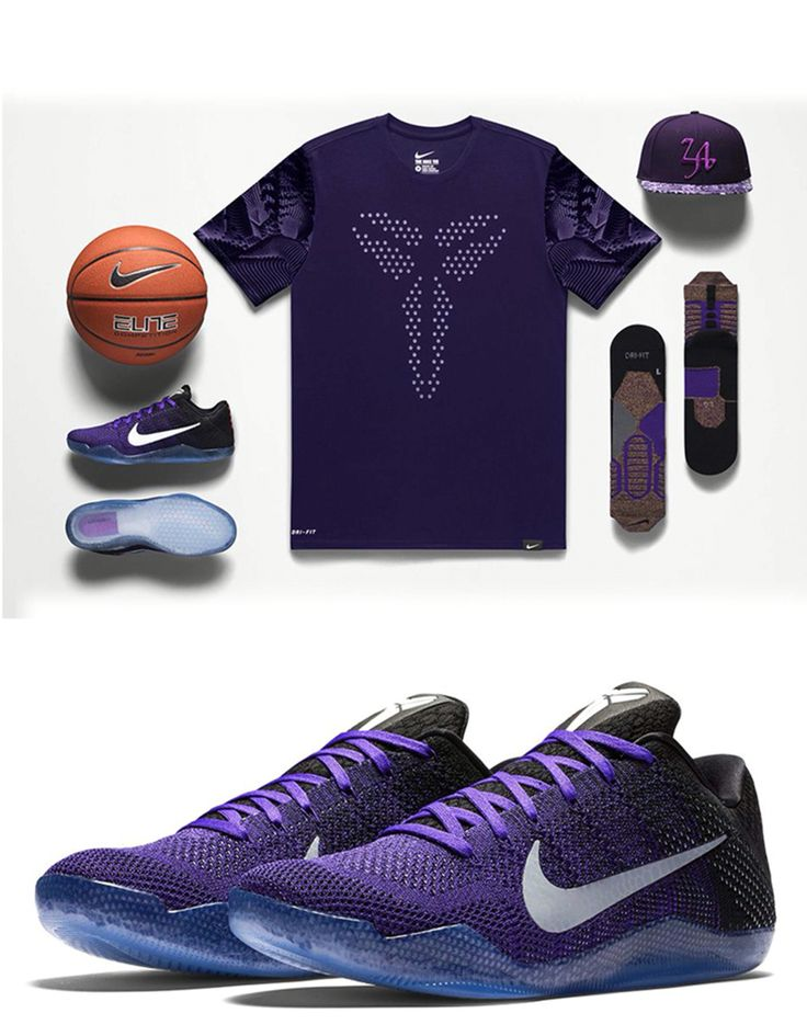 Love this purple!! New Kobe kicks!