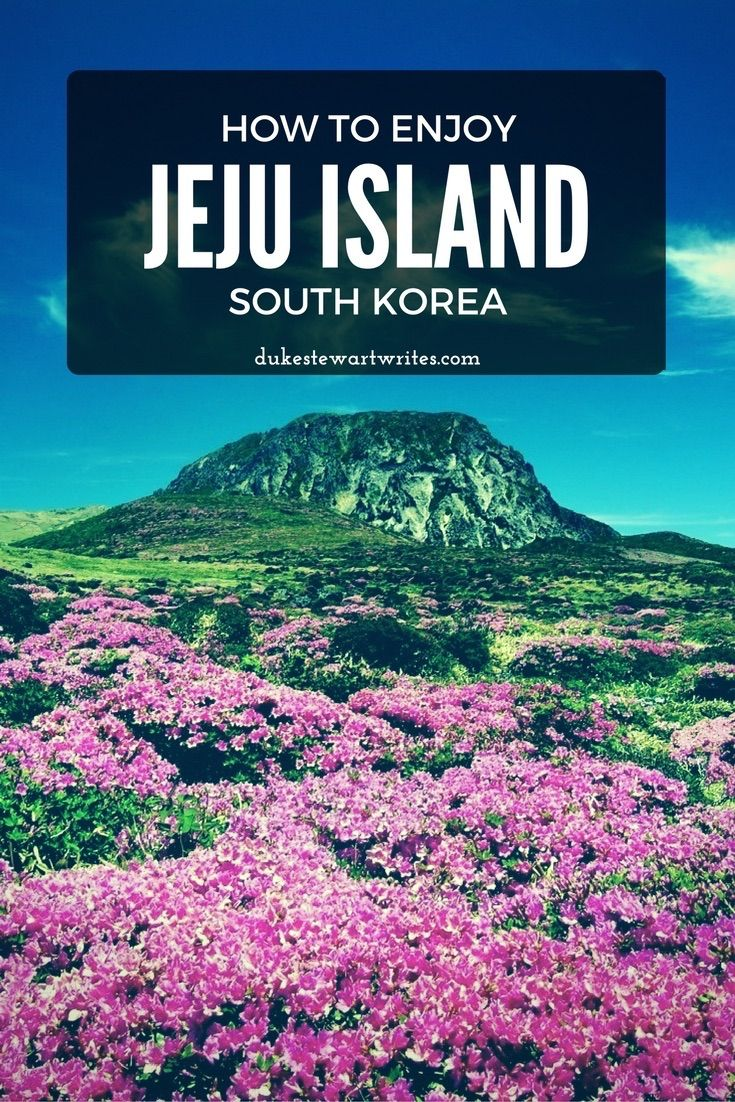 How to Enjoy Jeju Island by Laura Tarpley
