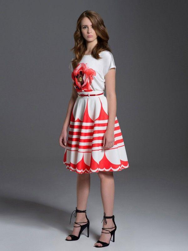 #springsummercollection #L'AF #eyeforfashion #springsummer2017 #floral #pattern #ss17 #dress #beauty #fashion #skirt #midi #geometric