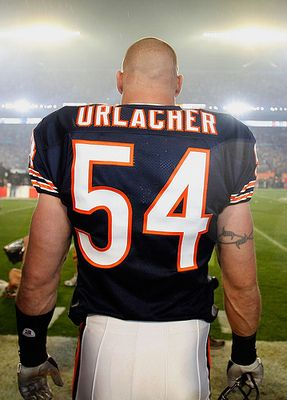 Brian Urlacher, future Hall of Famer. Thanks for 13 wonderful years! Godspeed & BEAR DOWN! :) 5/22/13.  One of the best! #BEARDOWN