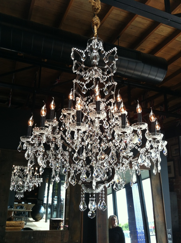 Timothy oulton chandelier