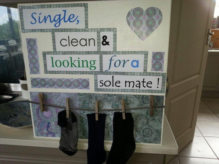 For lonely socks!