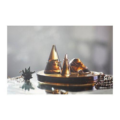 hjartelig cone porte bijoux lot de 3 ikea ideal pour y deposer vos bagues cette coupe peut aussi servir de decoration
