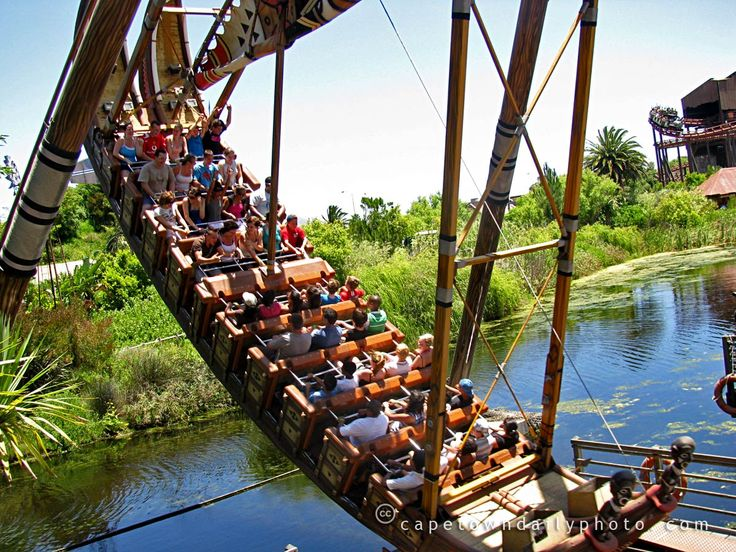 Ratanga Junction Amusement Park ~ Cape Town, South Africa ~ http://Mind-Soul-Heart Ramblings.blogspot.com