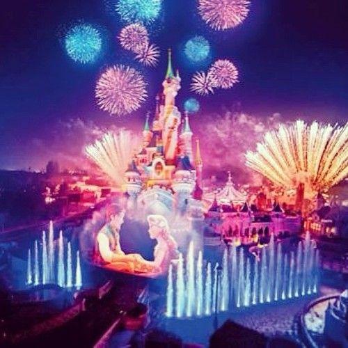 Disney Dreams with Flynn Rider and Rapunzel at Disneyland Paris <3 !!