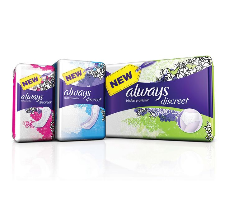 Get a free Always Discreet Sample Pack!! • Canadian Savers