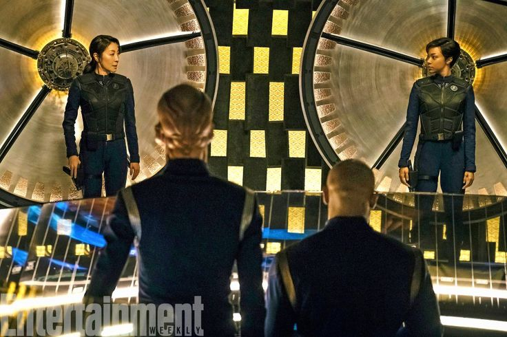 'Star Trek: Discovery' first look at a groovy new transporter room