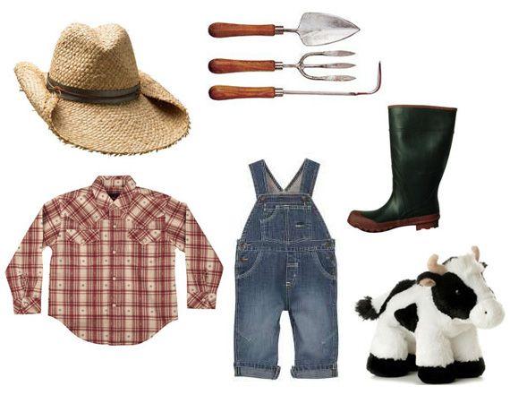 Farmer costume recipe