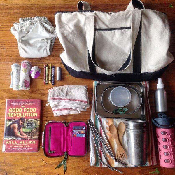 Also eco friendly Mum stuff!!! Zero Waste To-Go Kit: Mama Style | Hellobee <3