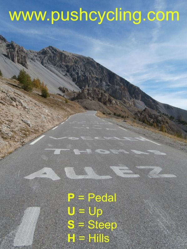 www.pushcycling.com The place for tips and information and inspiration for your own French Cycling experience.