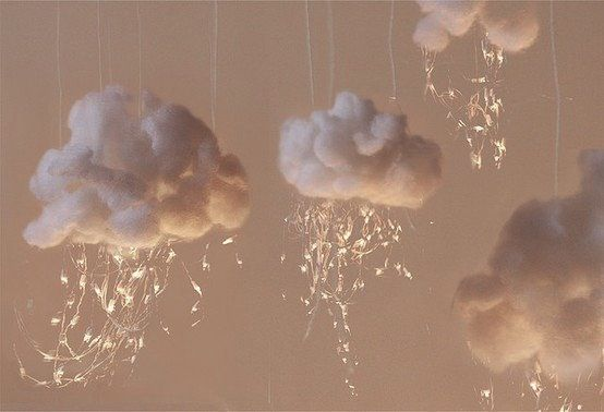 I WILL find a way to hang these clouds in my bedroom.