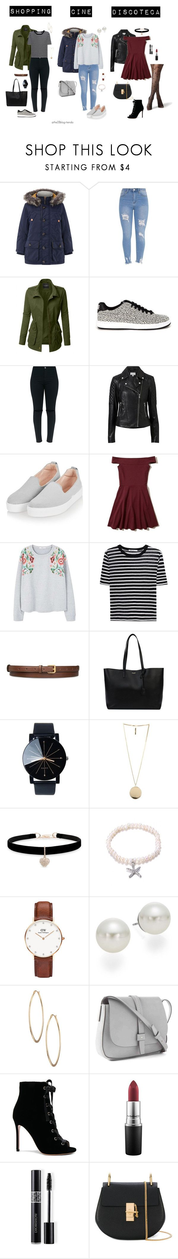 """""""Qué planes para hoy?"""" by jeniffercrystel on Polyvore featuring moda, Monsoon, LE3NO, NIKE, Witchery, Topshop, Hollister Co., MANGO, T By Alexander Wang y STELLA McCARTNEY"""