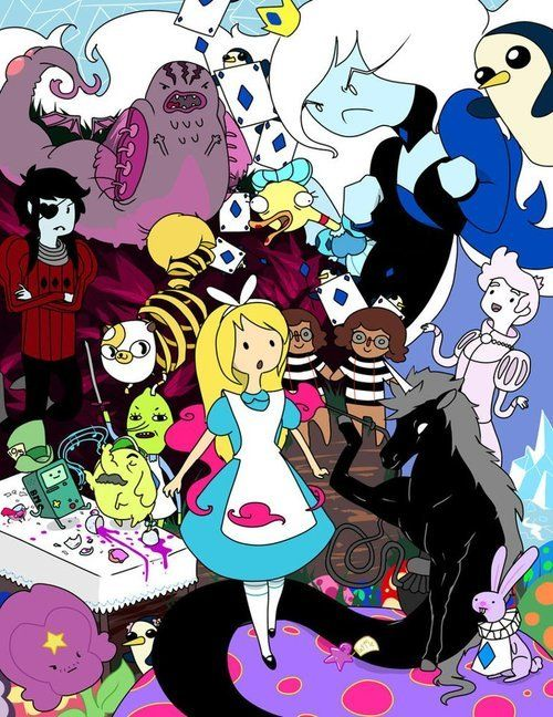 Adventure Time/Alice in Wonderland<33