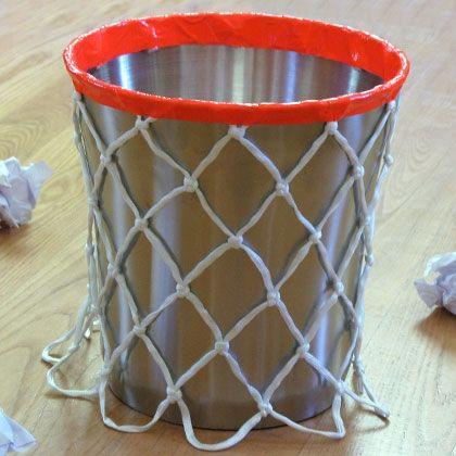 Troy's Slam Dunk Wastebasket