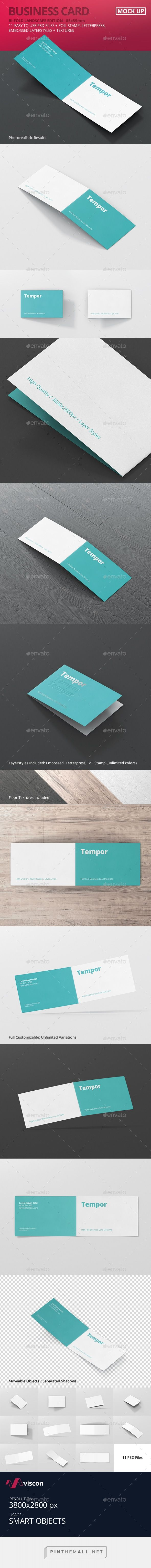 Best 25 folded business cards ideas on pinterest creative folded business card mockup by visconbiz magicingreecefo Image collections