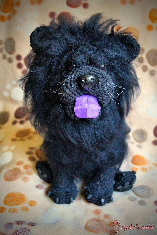 Crochet chow chow :)