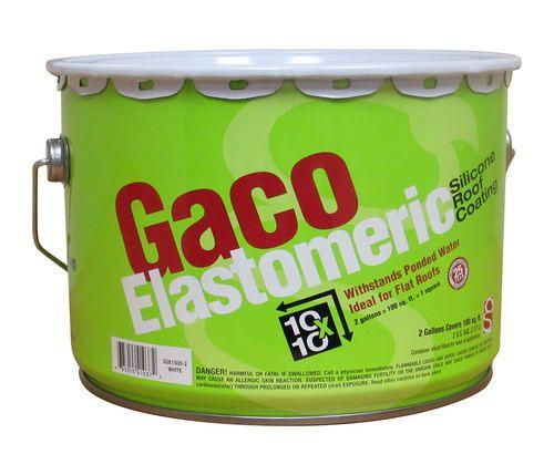 Gaco Elastomeric Roof Coating - 2 GALLON