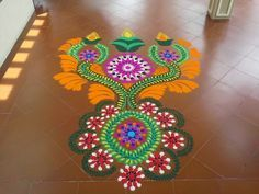Rangoli for Diwali 2014