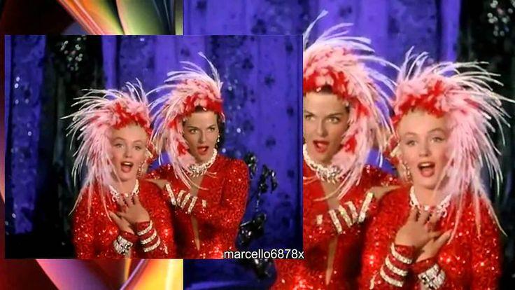 Marilyn Monroe Gentlemen prefer Blondes -Two little girls from Little Rock