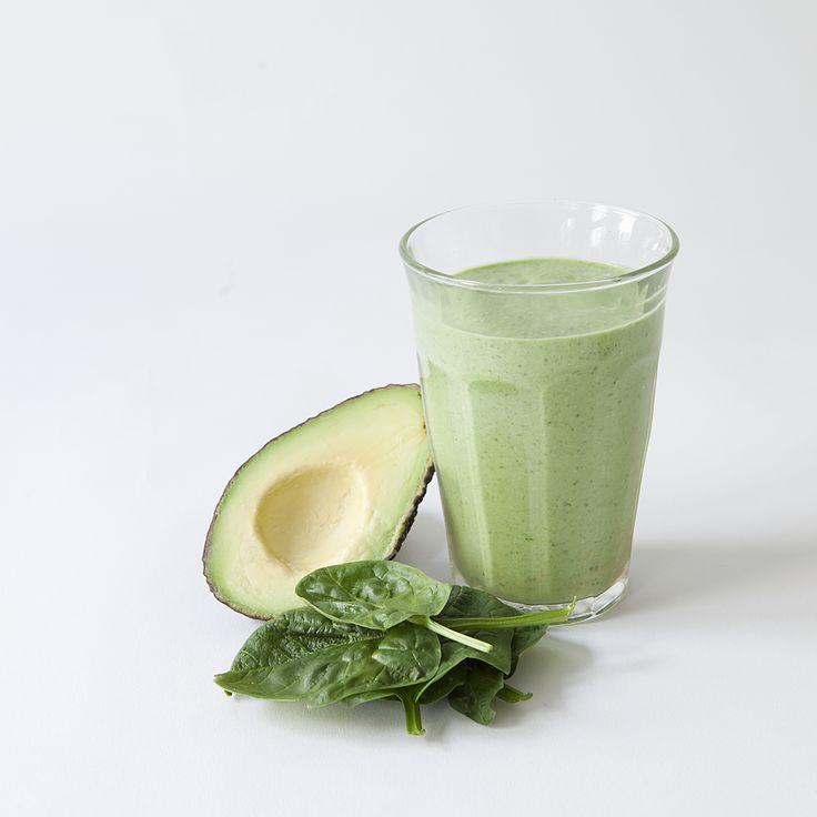 green breakfast smoothie // Spring Menu // by Wij Zijn Kees // www.ilovesla.com