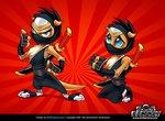Mascot design: Otter Ninja