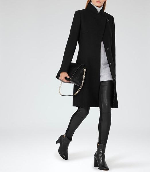 Stylish REISS coat look for winter