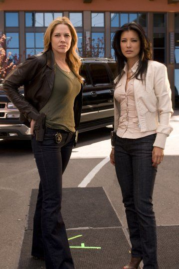 Still of Kelly Hu and Mary McCormack in In Plain Sight (2008)
