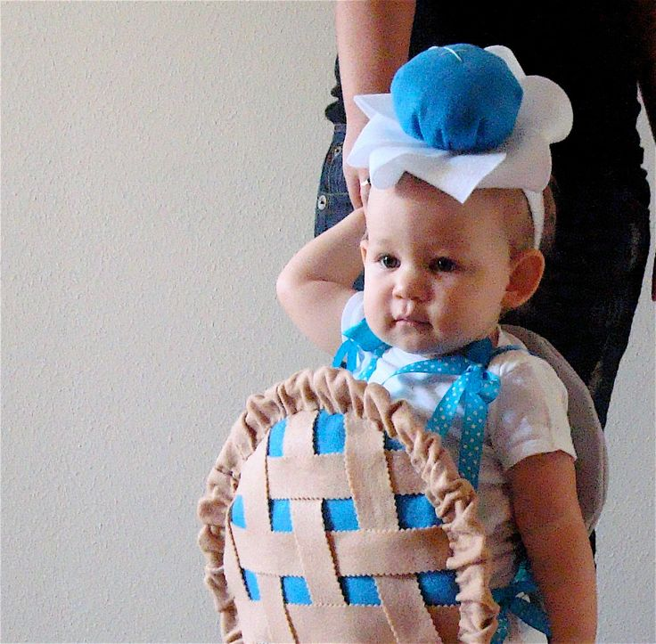 Baby Costume Toddler Costume Pie Halloween by TheCostumeCafe, $70.00