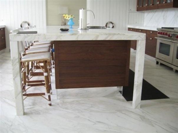 Designed By Dionne Trifiro Carrara Marble Island With