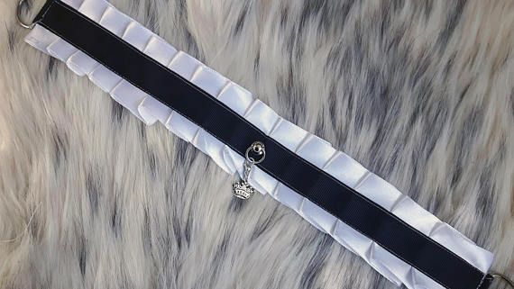 Discounted Kitten play collar / Large  15 inches long