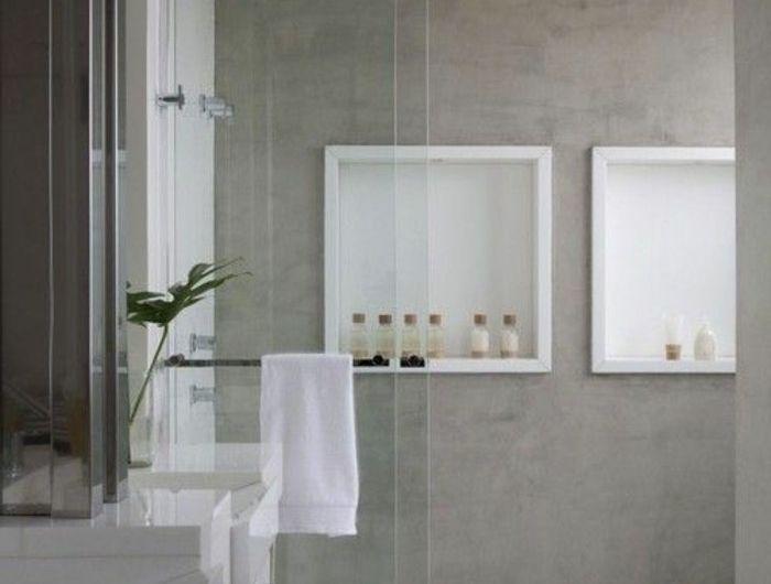 25+ ide terbaik Faire une douche italienne di Pinterest | Douche ...