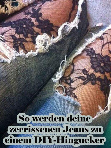 So werden deine zerrissenen Jeans zu einem DIY-Hingucker