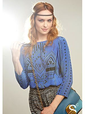 Kaylee DeFer (Gossip Girl Fashion)