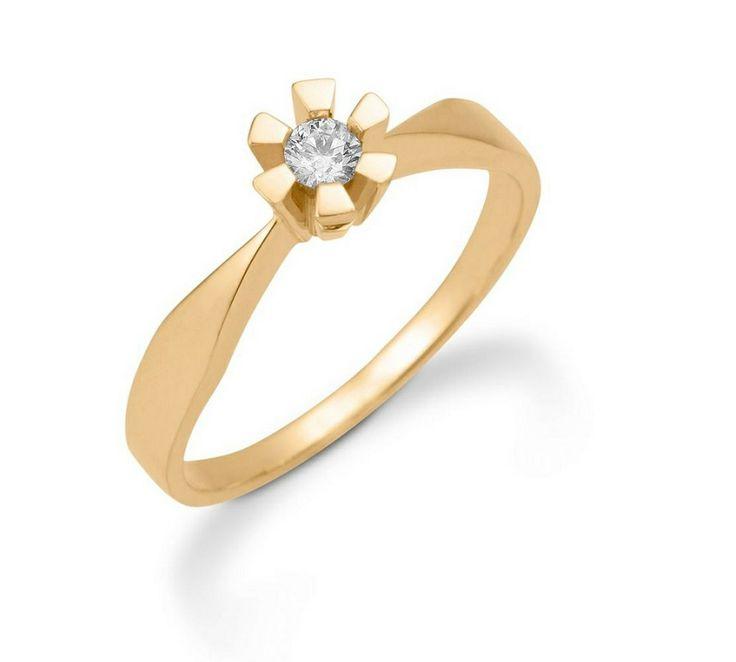 Aagaard Eternity Ring i guld m. brillant <3 #aagaard #eternity