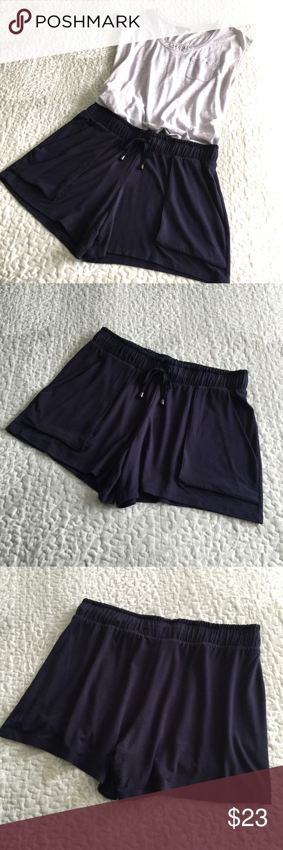Next Shorts (NextDirect-UK) Never worn.  Lightweight, soft fabric with elastic waist.  Please see photos for sizing and measurements.  Bundle for discount. Next  Shorts