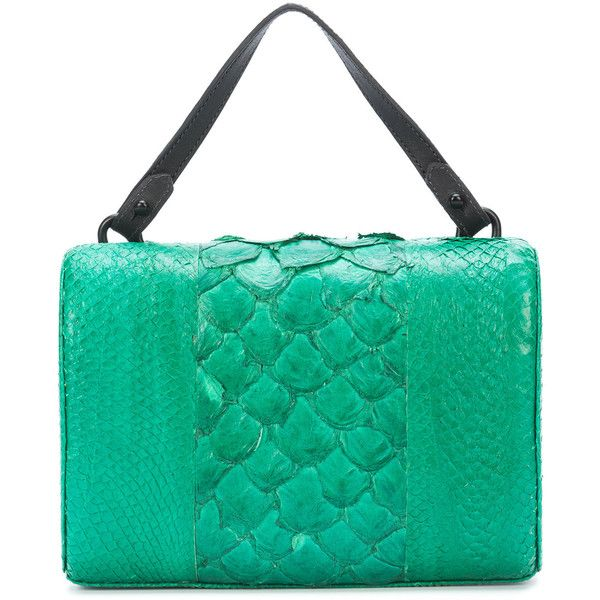 Osklen Igarape clutch bag ($955) ❤ liked on Polyvore featuring bags, handbags, clutches, green, green purse, green handbags, suede clutches, green suede handbag and green clutches
