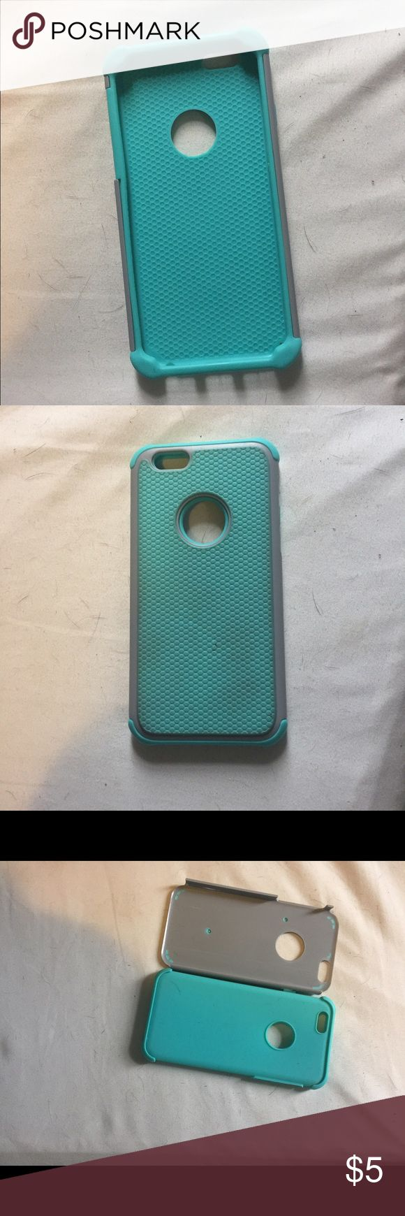 iPhone 6 case I have a IPhone 6 case, it does have a small stain on the back as you can see in the picture. It is a great case I just switched phones. Accessories Phone Cases
