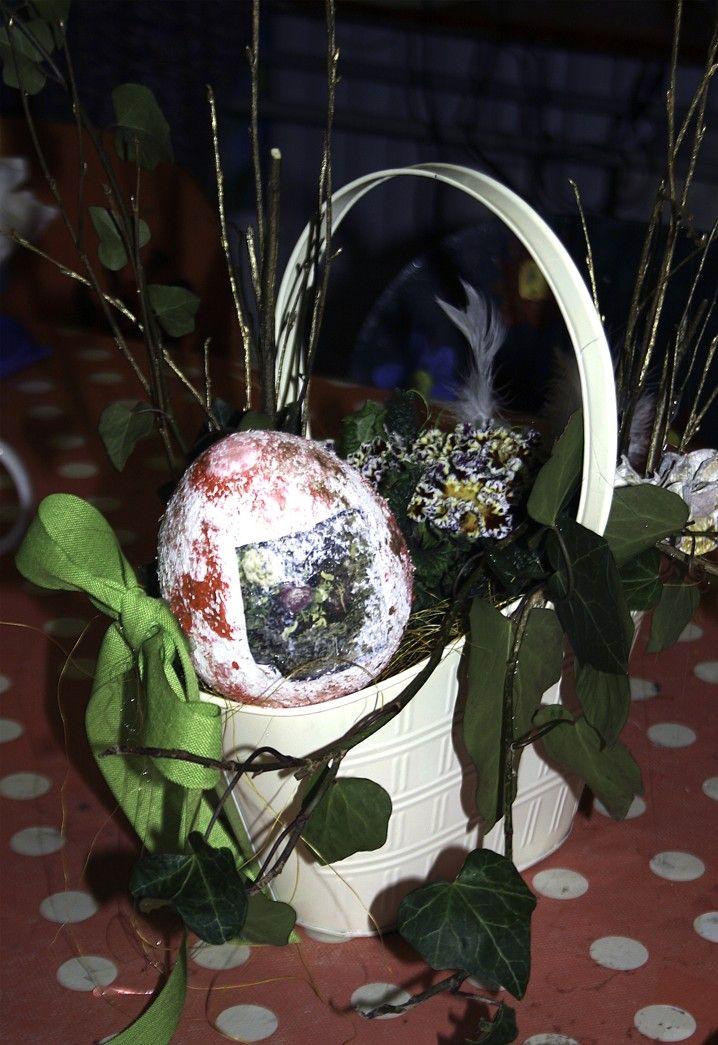 Velikonoční dílna v našem studiu.
