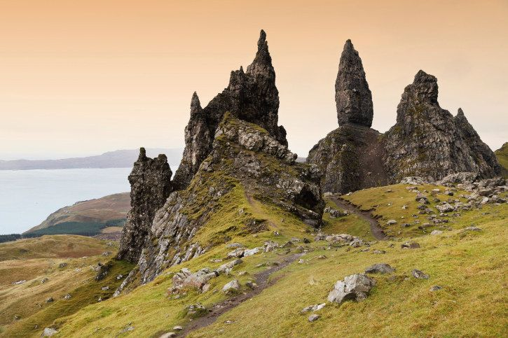 Marvel at The Old Man of Storr. | 18 Reasons To Run Away To The Isle Of Skye