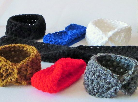 Super Cute Crochet Cinched Wristbands Crochet by TiStephani