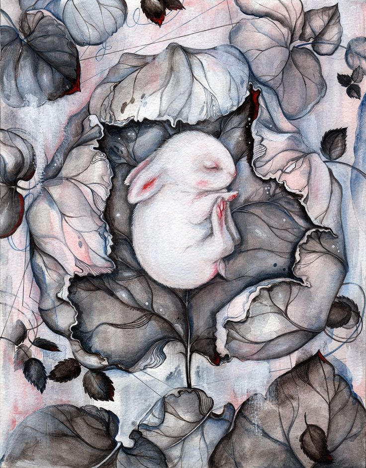 ART | ILLUSTRATION by Marjolein Caljouw: 'Wintersleep' available in online auction now.