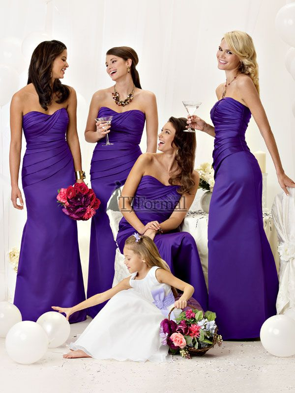 Best 25  Purple bridesmaid dresses ideas on Pinterest | Purple ...