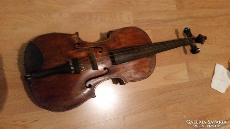 Nagyon régi mester hegedű