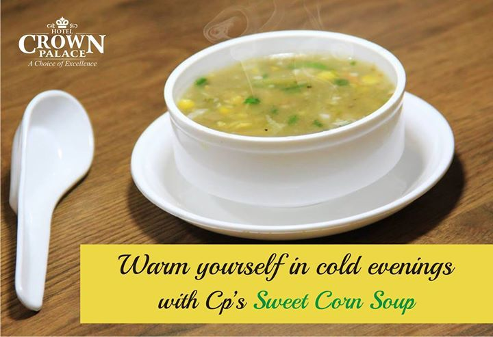 Warm yourself in cold evenings  with Cp;s Sweet Corn Soup - http://ift.tt/1HQJd81